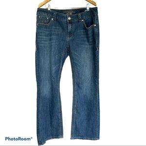 SEVEN7 Melissa McCarthy bootcut jeans 18W